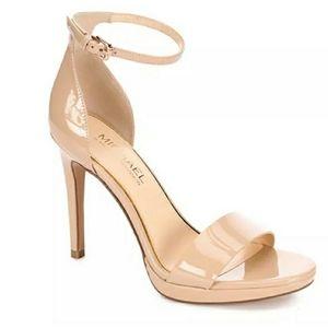 Michael Shannon Angelica Platform Sandals Nude